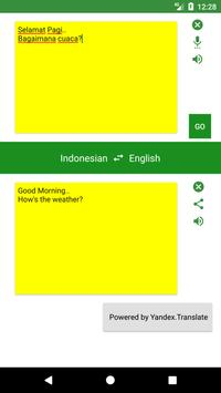 English to Indonesian Translator screenshot 1