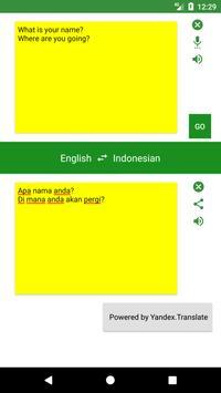 English to Indonesian Translator screenshot 2