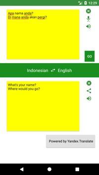 English to Indonesian Translator screenshot 3