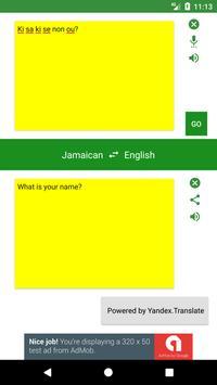 English to Jamaican Translator screenshot 4