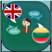 English to Lithuanian Translator icon