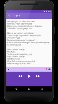 SHINee Songs Lyrics apk screenshot