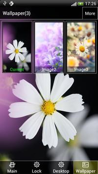 Charming Flower Lock&Wallpaper screenshot 3
