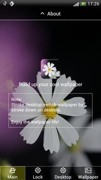 Charming Flower Lock&Wallpaper poster