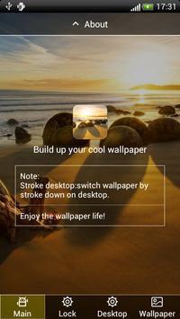 Sandy Beach Lock & Wallpaper apk screenshot