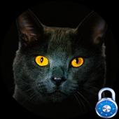 Black Cat Free Lock Screen Pro icon
