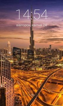 Burj Khalifa Lock Screen Wallpaper screenshot 5