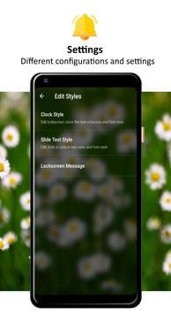 Daisy Lock Screen screenshot 3