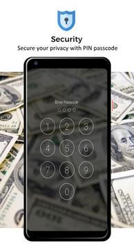 Money Pattern Lock Screen screenshot 3