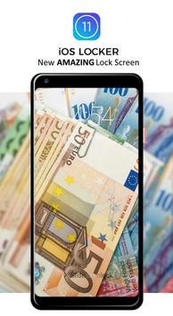 Money Pattern Lock Screen screenshot 2