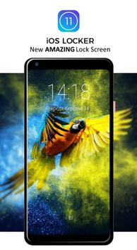 Macaw Parrot Lock Screen poster