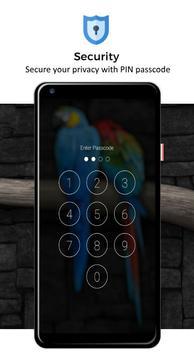 Macaw Parrot Lock Screen screenshot 1