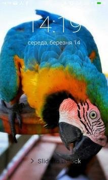 Macaw Parrot Lock Screen screenshot 5