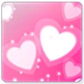 Hearts screen Lock wallpaper icon