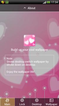 Hearts screen Lock wallpaper poster