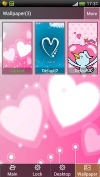 Hearts screen Lock wallpaper apk screenshot