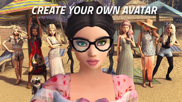 Avakin Life - 3D virtual world الملصق