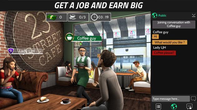 Avakin Life - 3D virtual world apk تصوير الشاشة