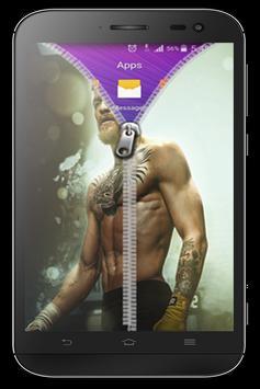 Conor Zipper Lock Screen poster