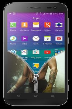 Conor Zipper Lock Screen apk screenshot