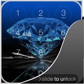 3D Diamond Lock Screen icon