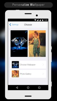 3D Diamond Lock Screen apk screenshot