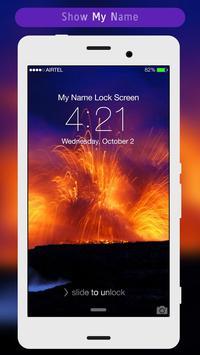 Volcano Lock Screen apk screenshot