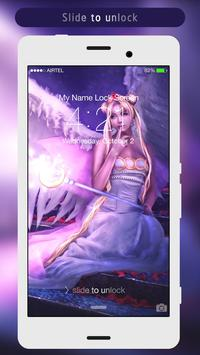 Angel Lock Screen apk screenshot