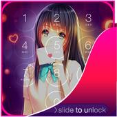 Anime Girl Lock Screen icon