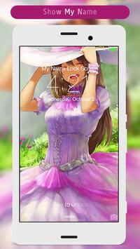Anime Girl Lock Screen apk screenshot
