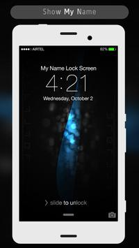 Black Style Lock Screen apk screenshot