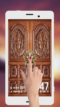 Durga Ji Door Lock Screen poster