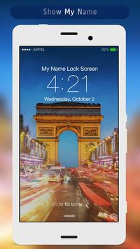Paris Lock Screen apk screenshot