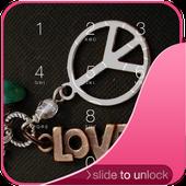 Peace Sign Lock Screen icon