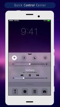 Purple Night Lock Screen apk screenshot