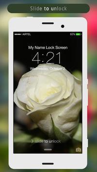 Rose Lock Screen apk screenshot