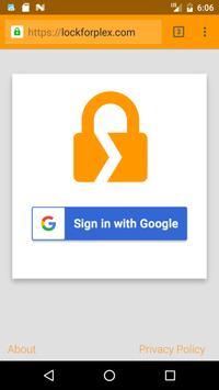 Lock for Plex poster