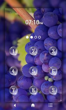 Fruits Keypad LockScreen screenshot 3