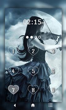Gothic Keypad LockScreen poster