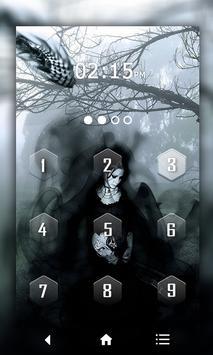 Gothic Keypad LockScreen screenshot 1