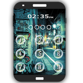 Graffit Keypad LockScreen icon