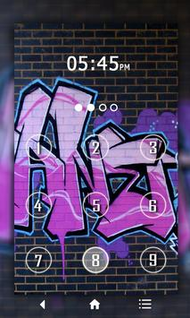 Graffit Keypad LockScreen poster