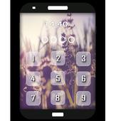 Lavender Keypad LockScreen icon