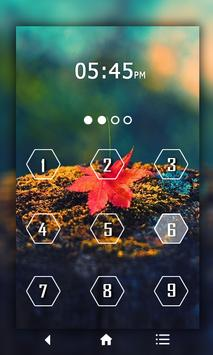 Leaf Keypad LockScreen screenshot 3