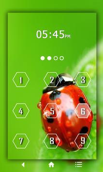 Leaf Keypad LockScreen poster