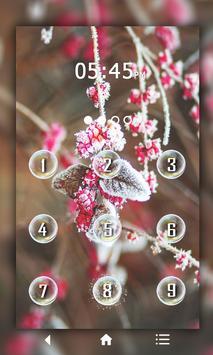 Leaf Keypad LockScreen screenshot 1