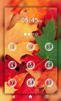 Leaf Keypad LockScreen screenshot 2