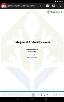Locklizard Safeguard Viewer poster