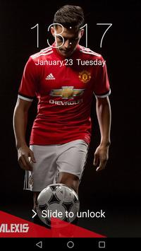 Lock Screen for Manchester United 2018 screenshot 6