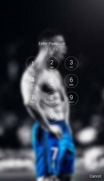 Cristiano Ronaldo Lock Screen screenshot 1